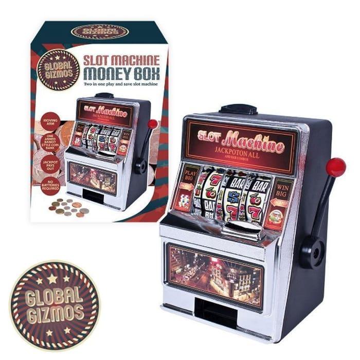Global Gizmos Fruit Machine Money Box