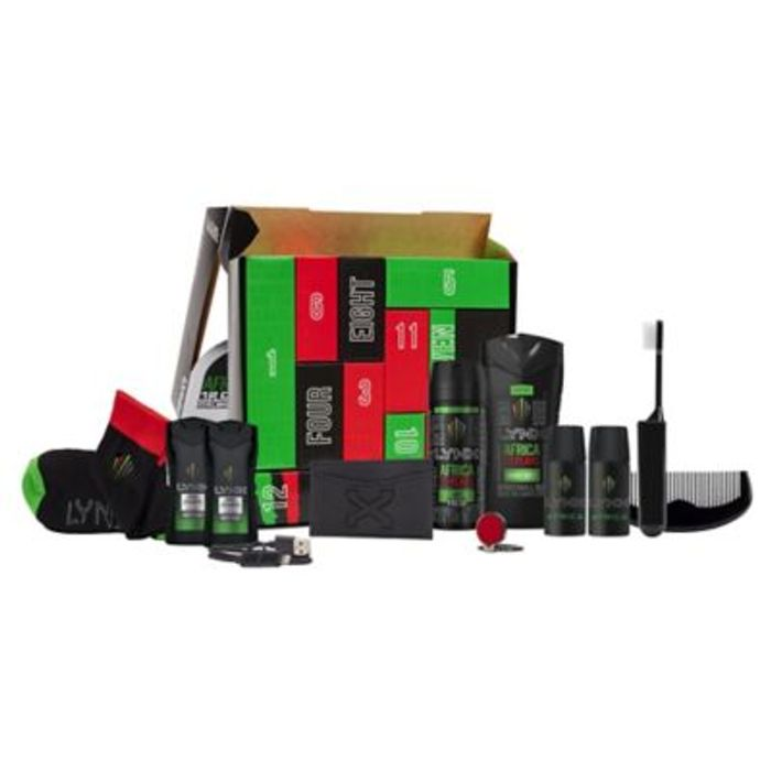 £10 Only Bargain : Lynx Build up Africa Countdown Gift Set, Online & In Store