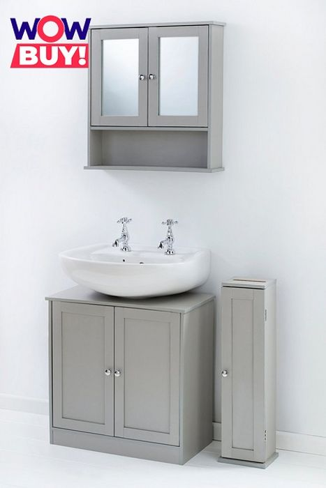 3-Piece Bathroom Furniture Set