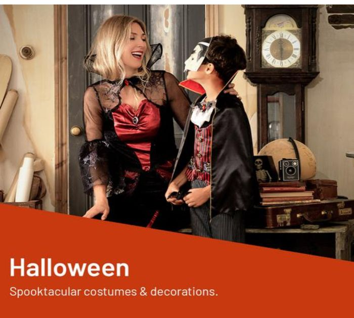 Shop All Halloween Decorations 1/2 Price