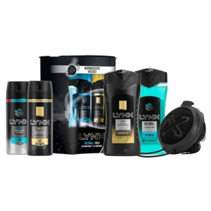 *BLACK FRIDAY DEAL* Lynx Bumper Pack Gift Set Half Price!
