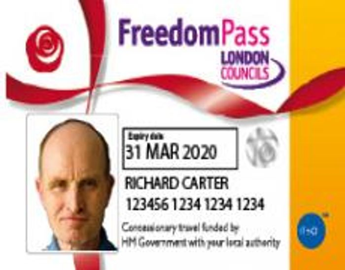 Free Disabled Persons Freedom Pass