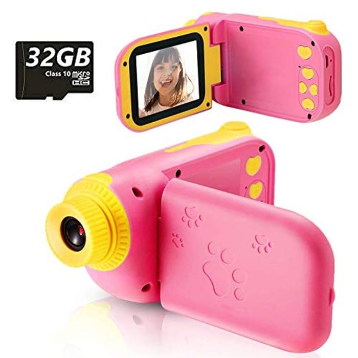 Kids Pink Camera