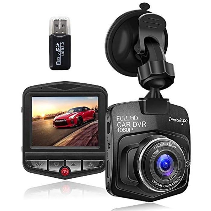 Upgraded Dash Cam Car Camera 1080P