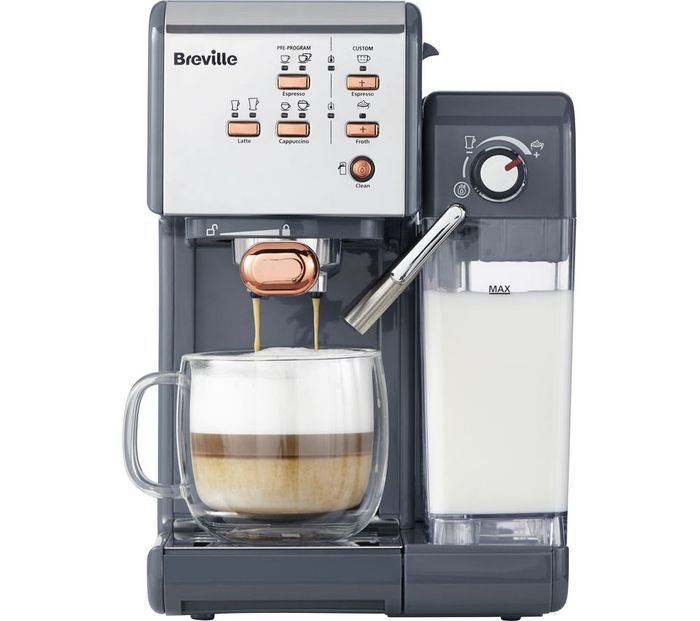 Best Price! BREVILLE One-Touch Coffee Machine 4 Colours