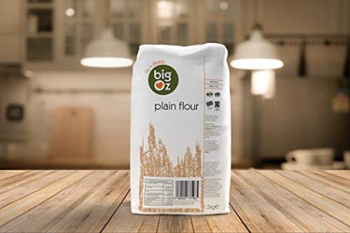 BIG OZ Plain Flour, 1.5 Kg - Pack of 4
