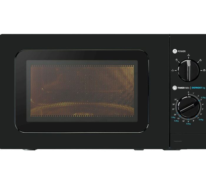 *SAVE £5* ESSENTIALS 17Ltr Solo Microwave - Black