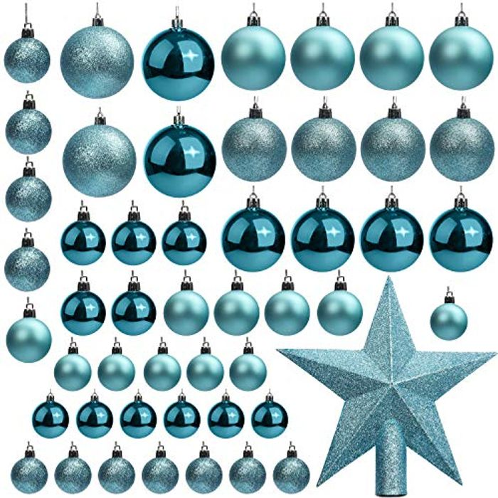 Christmas Baubles (50 Pack)