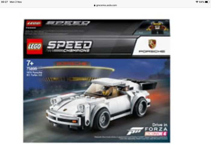 Best Price! LEGO Speed Champions 1974 Porsche 911 Turbo 3.0 (7+ Years)