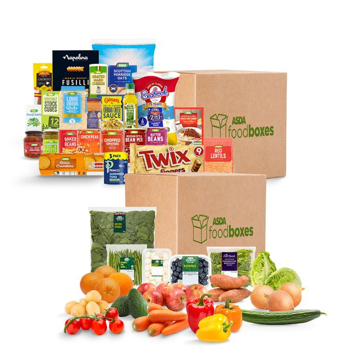 Back In Stock,REDUCE:Complete Food Box Bundle 41 Item Included Only £34