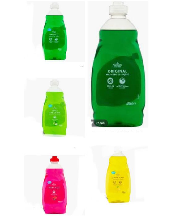 Reduce Price Morrisons Washing up Liquid All Varieties 450ml