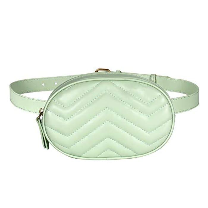 CHEAP! Geestock Women Waist Bags Waterproof PU Leather Belt Bag
