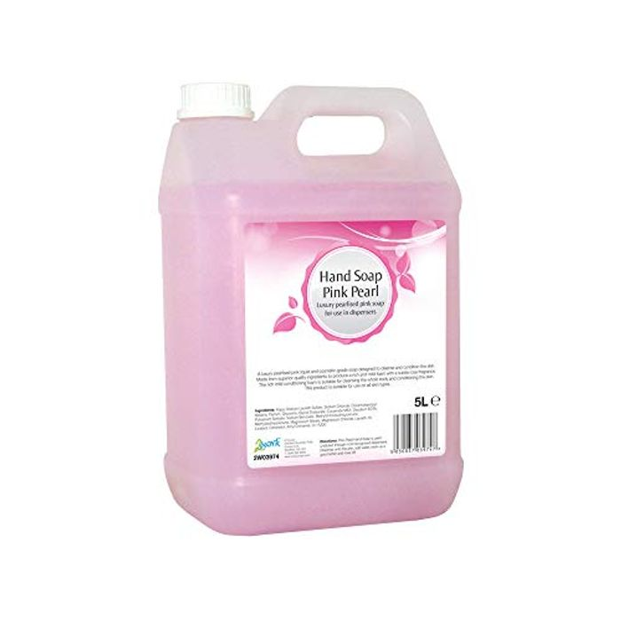 2Work 2W03974 5 L Hand Soap, Pack of 1, Pink Pearl - Only £8.79!