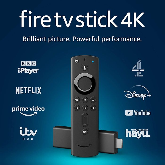 Save 40% - Fire TV Stick 4K Ultra HD Inc Alexa Voice Remote - £29.99 Delivered