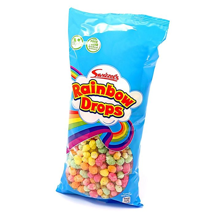 Rainbow Drops (Case of 8 X 80g Bags)