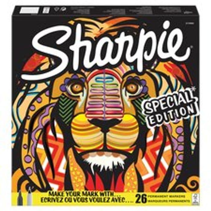 Sharpie Lion Box 26Pk