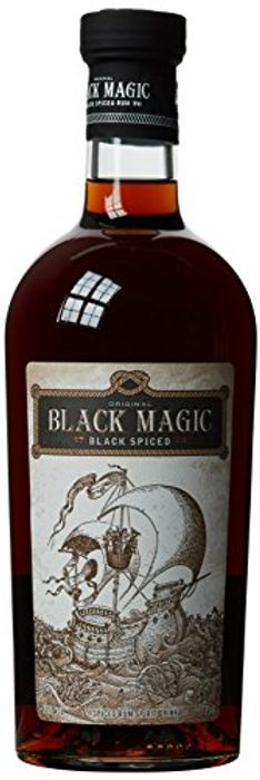 Black Magic Spiced Rum, 70cl - Only £13.99!