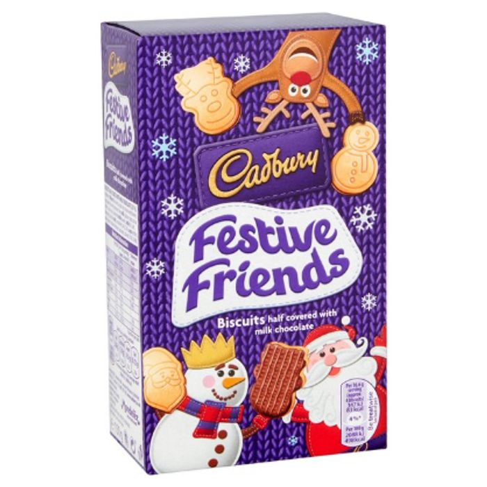 Any 2 for £1.50 - Selected Tesco or Cadbury Novelty Biscuits