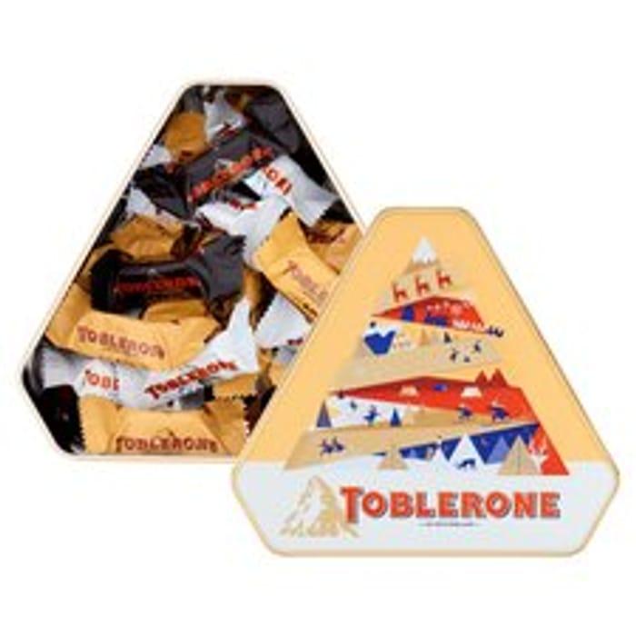 Toblerone Tinys Tin 368G CLUB CARD PRICE