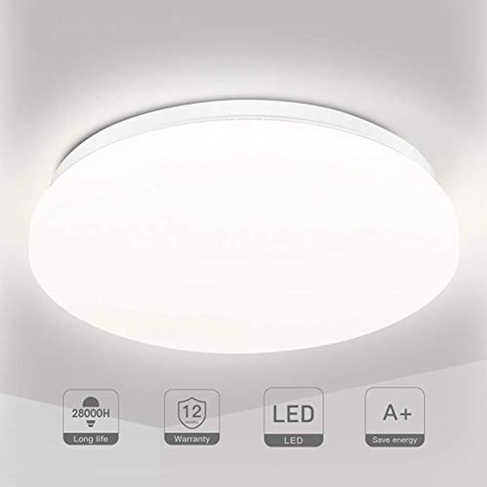 LED Bathroom 18W Ceiling Light - 28cm