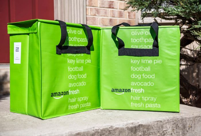 Struggling to Get Food Shopping? Amazon Fresh!