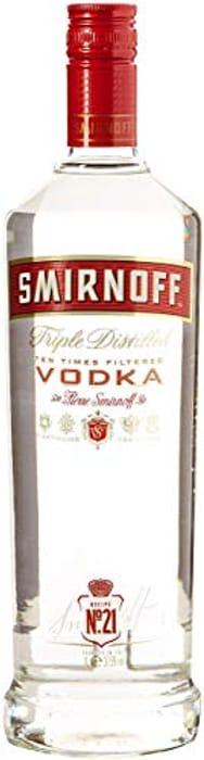 Smirnoff Red Label Vodka, 1L £16 (+£4.49 Non Prime) at Amazon