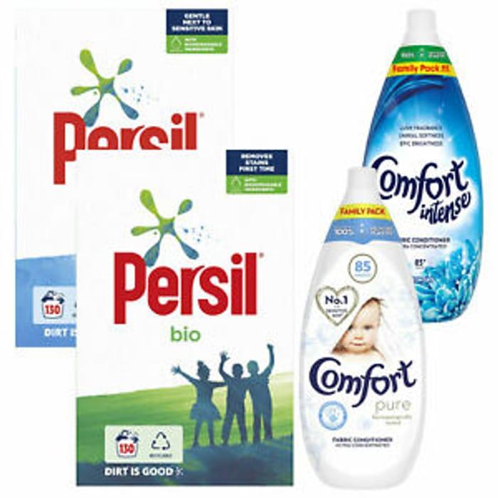 130 Wash Persil Bio or Non Bio + 85 Wash Comfort £14.99 Delivered