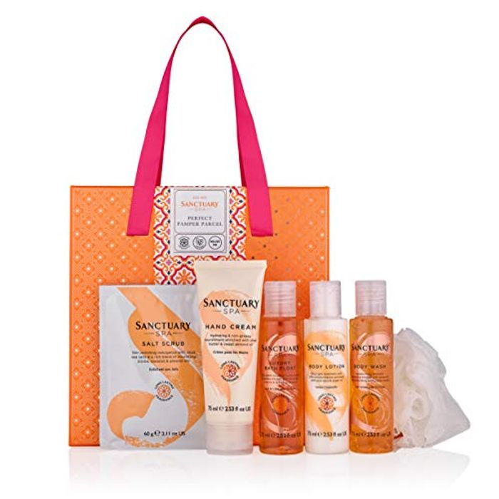 Sanctuary Spa Gift Set, Perfect Pamper Parcel with Hand Cream - Only £11.39!