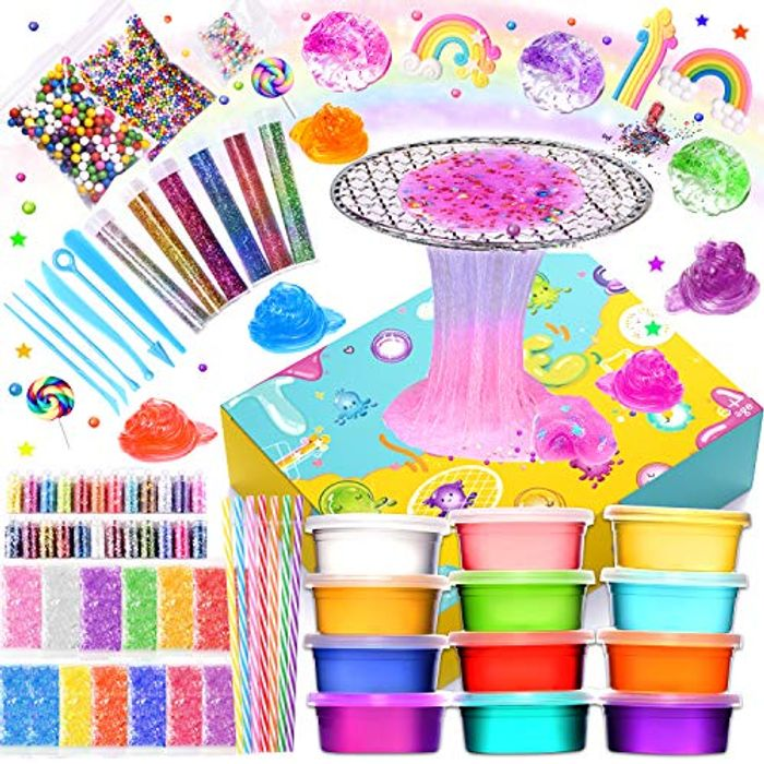 Joyjoz Slime Kit Toys, Slime Kit Supplies for Slime Party - Only £9.99!