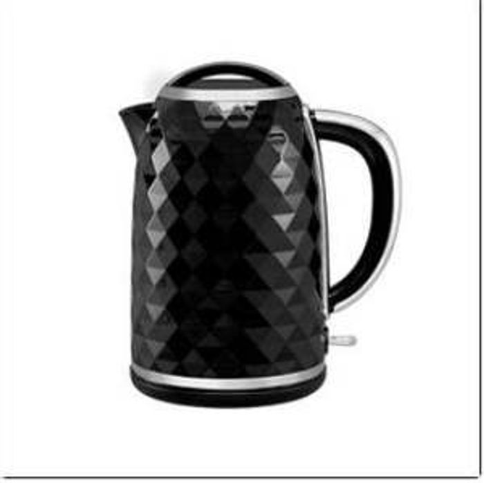 George Home Black Diamond Effect Body Kettle 1.7L - Only £14!