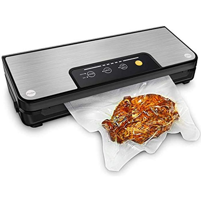 Deal Stack!Vacuum Sealers with Built-in Cutter and Roll Storage