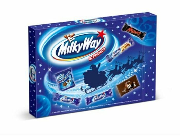 Milky Way & Friends Chocolate Christmas Selection Box 127g