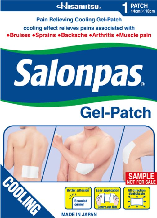 FREE Salonpas Gel-Patch Sample