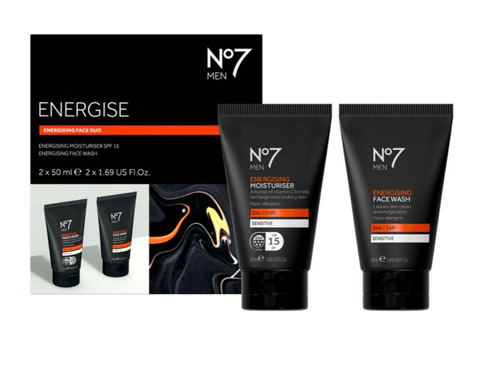 No7 Men Energising Face Duo Buy 3 Sets for £10 ONLY