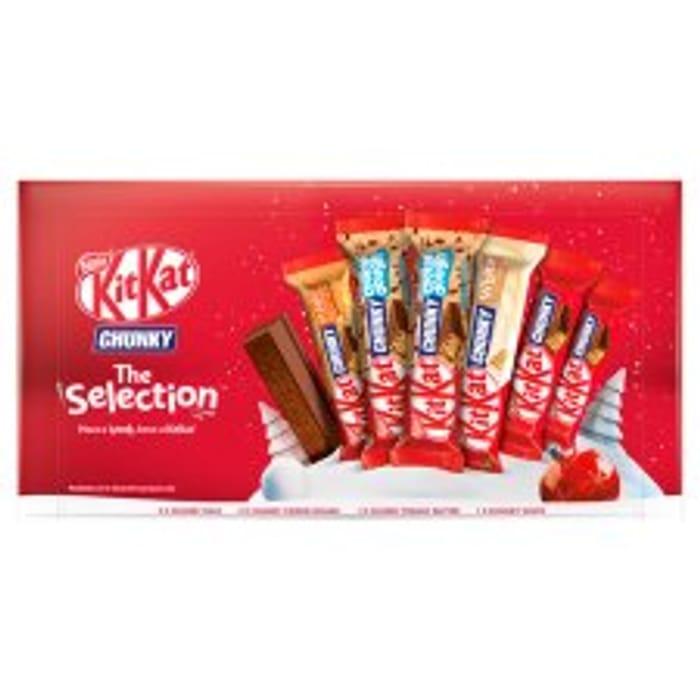 Kit Kat Chunky Selection Box - HALF PRICE