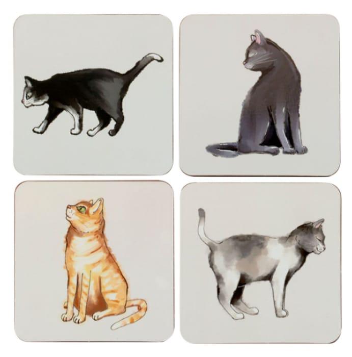 Cat or Dog Coasters - Set of 4