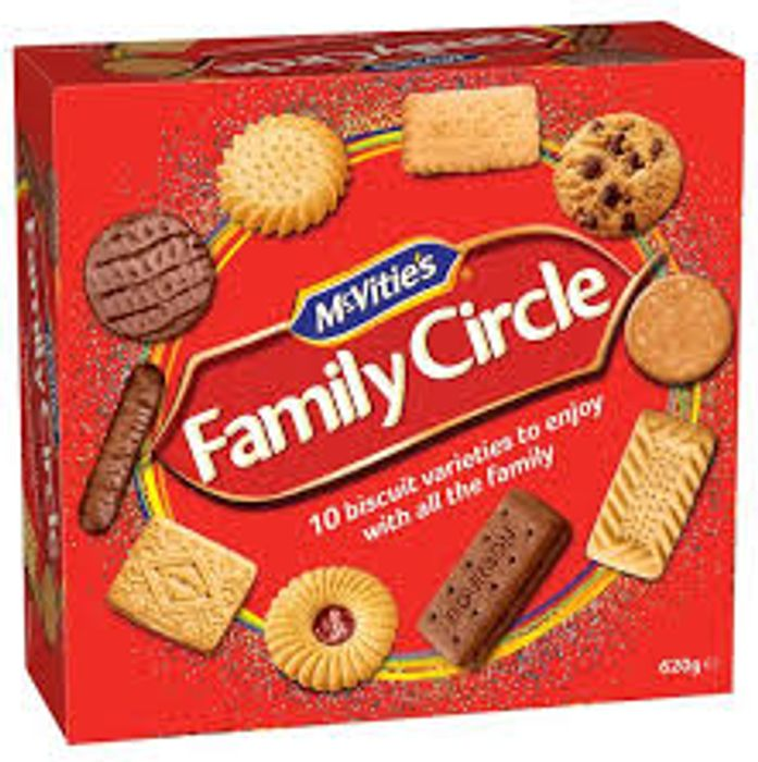 McVitie's Family Circle Biscuits - Only £1.50!