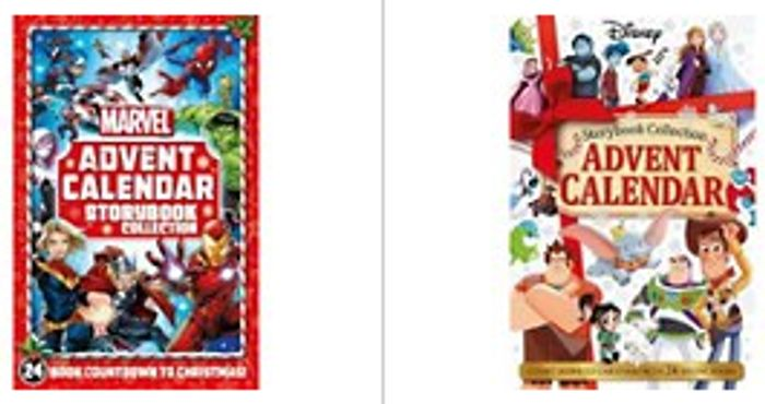 Disney Storybook Advent Calendar | Marvel: Storybook Advent Calendar Each