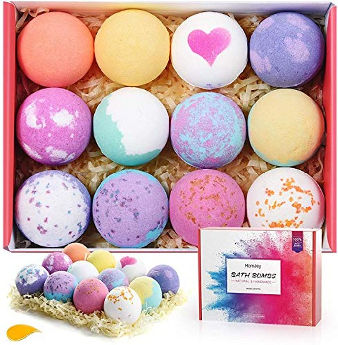 12 Pack Bath Bomb Gift Set