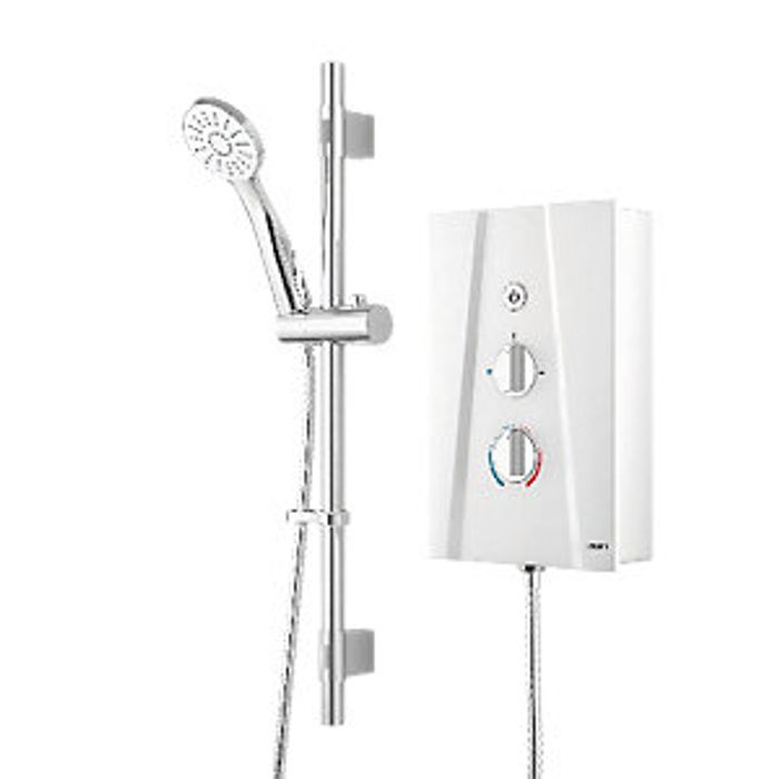*HALF PRICE* Wickes Hydro Ultra Electric Shower Kit - White/Chrome 10.5kW