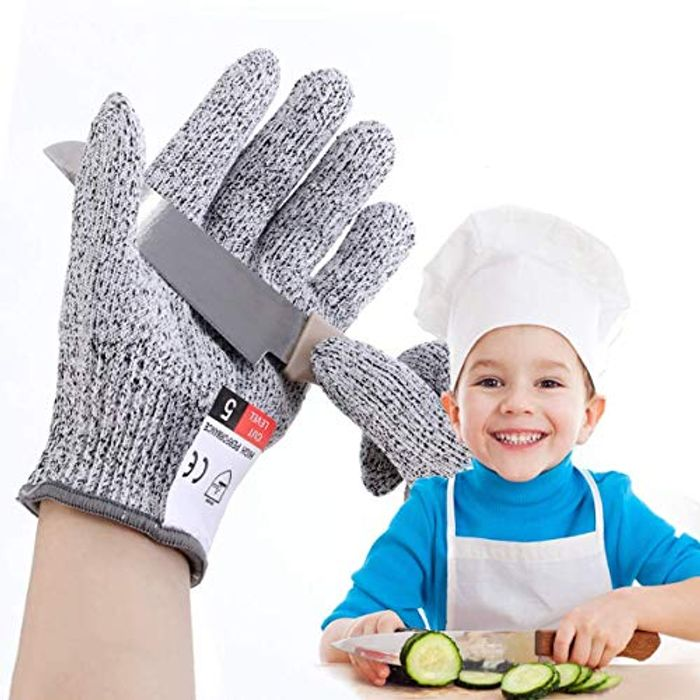 LIUMY Cut Resistant Gloves for Kids