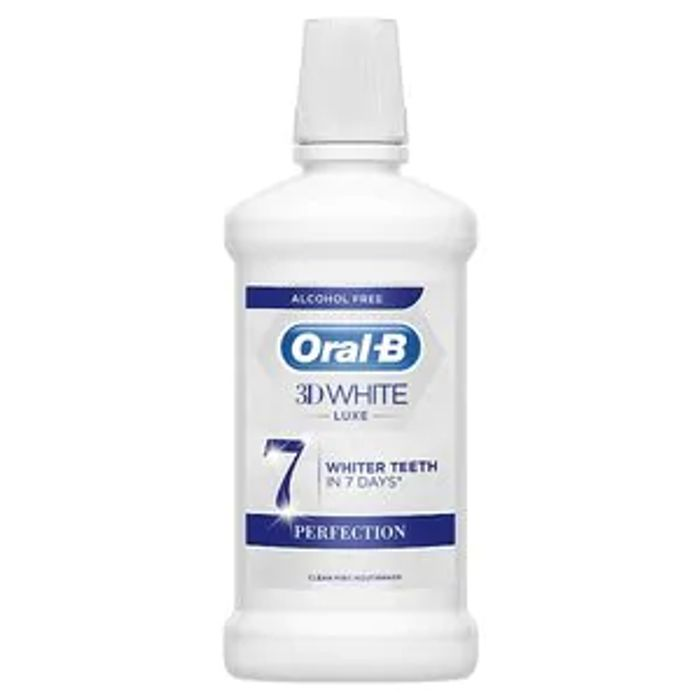 Oral-B 3D White Luxe Perfection Rinse 500ml