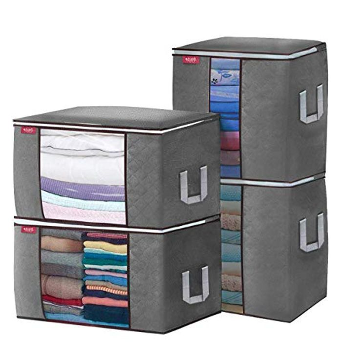 DEAL STACK - Coupon & Voucher off Large Capacity Clothes Storage Bags