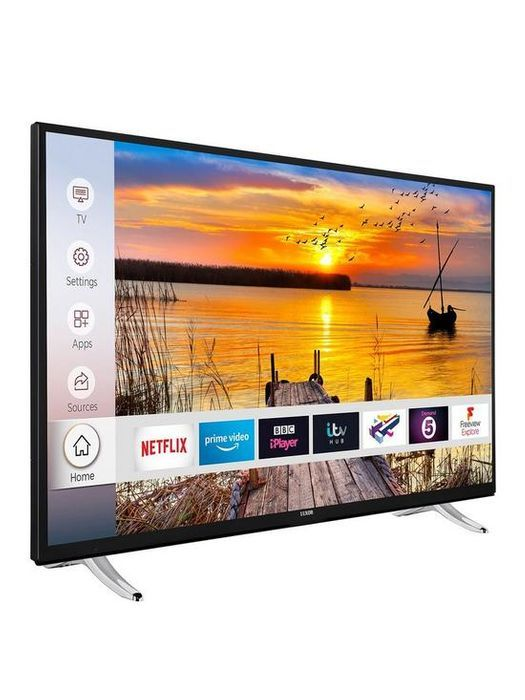 *SAVE over £70* Luxor 50 Inch 4K UHD, Freeview Play, Smart TV