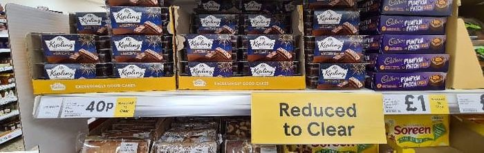 Halloween Offer : Chocolate / Cakebars / Sweets Just 40p
