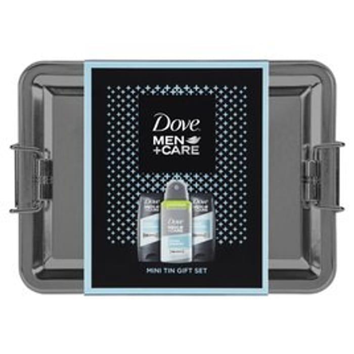 Dove Men +Care Mini Tin Gift Set