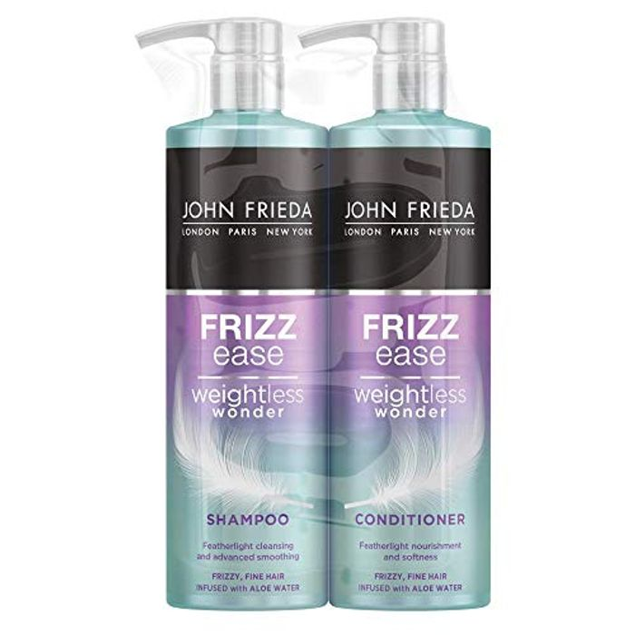 John Frieda Frizz Ease Weightless Wonder Shampoo and Conditioner