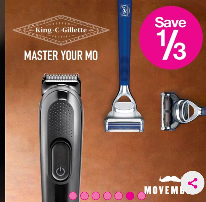 Special Offer - Save 1/3 on Selected King C. Gillette Products