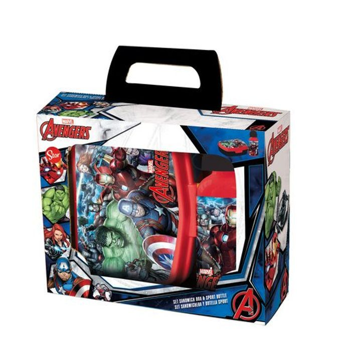Marvel Avengers Lunch Box and Water Bottle with 50% Discount!