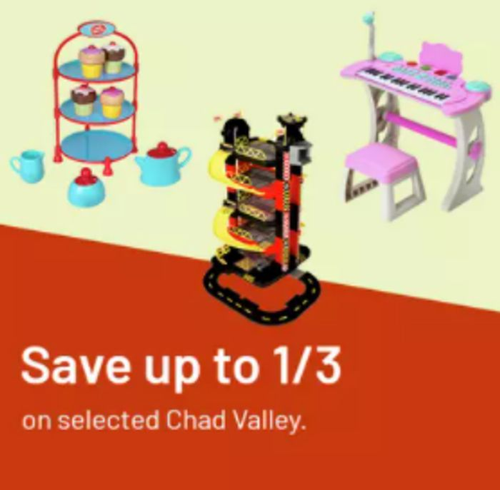 Argos - Up To 1/3rd Off Chad Valley Toys + 5 X Nectar Points!